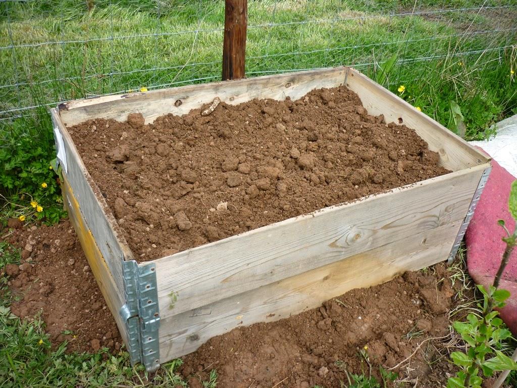 Pallekarm brukt til kompost